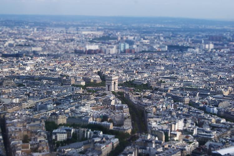 Pierwszy odpoczynek w stolicy Francji